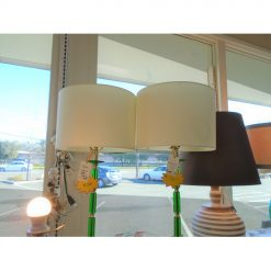 Cupula Green Table Lamp - AS IS
